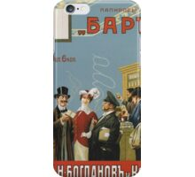 Vintage poster - Russian cigarettes iPhone Case/Skin