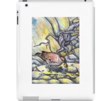Stand by the Grey Stone when the Thrush Knocks iPad Case/Skin