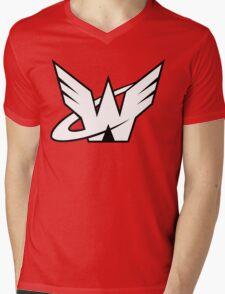 Crimson Fist Mens V-Neck T-Shirt