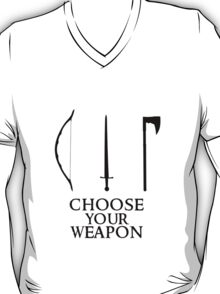 Lord of the Rings: Choose Your Weapon T-Shirt