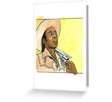 Blazing Saddles #1 Greeting Card