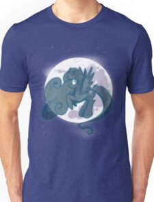 Snowdrop on the moon Unisex T-Shirt
