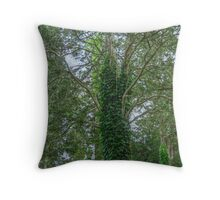 Covered in Ivy Throw Pillow