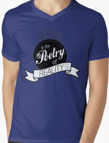 Science Poetry of Reality (mugs) Mens V-Neck T-Shirt