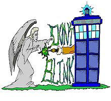 Don't Blink Tardis by Skree
