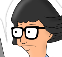 Tina Belcher; Haters Gonna Hate. Bob's Burgers Sticker