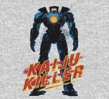 Kaiju Killer Blue Kids Clothes