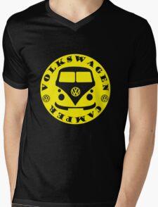 VW Camper Mens V-Neck T-Shirt
