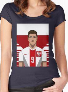 Lewandowski Women's Fitted Scoop T-Shirt