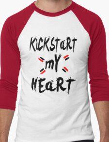 KICKSTART MY HEART Men's Baseball ¾ T-Shirt
