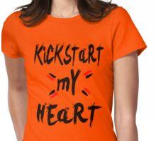 KICKSTART MY HEART Womens Fitted T-Shirt