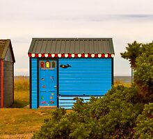 HOPEMAN HUTS IN AUGUST by JASPERIMAGE