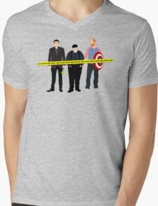 Murder, He Wrote Mens V-Neck T-Shirt