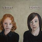 Beca and Guto by Amanda Clegg