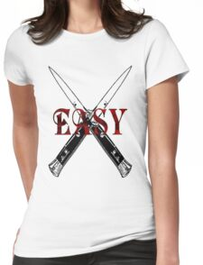 Easy Switch Blade Womens Fitted T-Shirt