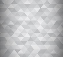 Silver Triangle Abstract Background by pandamanda827