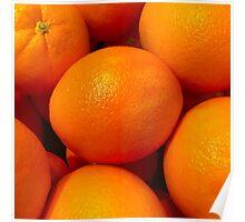 Orange Fruit 1 Poster