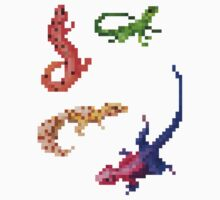 Reptile Set 1 by hoodsandhats