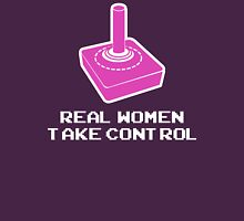 Real Women Take Control Womens Fitted T-Shirt