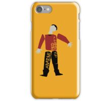 Anatomy Of A Red Shirt iPhone Case/Skin