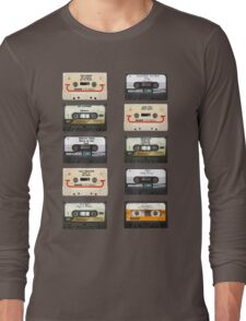 Vintage tapes Long Sleeve T-Shirt
