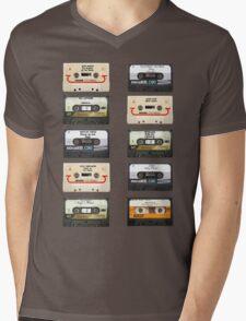Vintage tapes Mens V-Neck T-Shirt