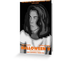 Laurie Strode Greeting Card