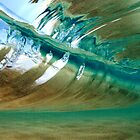 View Inside a Perfect Wave by printscapes