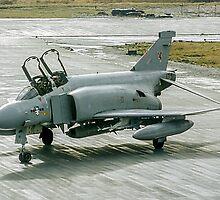 McDonnell F-4M Phantom FGR.2 XV464/U at RAF Stanley FI by Colin Smedley
