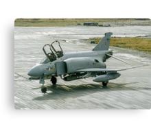 McDonnell F-4M Phantom FGR.2 XV464/U at RAF Stanley FI Canvas Print