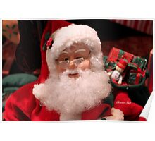 Santa ~ Talk to the Man in Red Poster