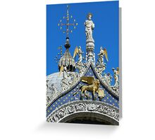 St. Mark on the Cathedral Greeting Card