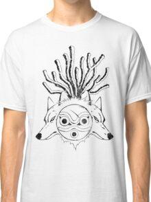 Wolf Princess (Black) Classic T-Shirt