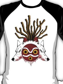 Wolf Princess (Color) T-Shirt