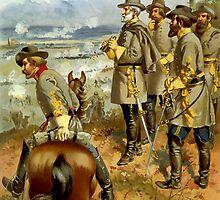 General Lee At The Battle Of Fredericksburg by warishellstore