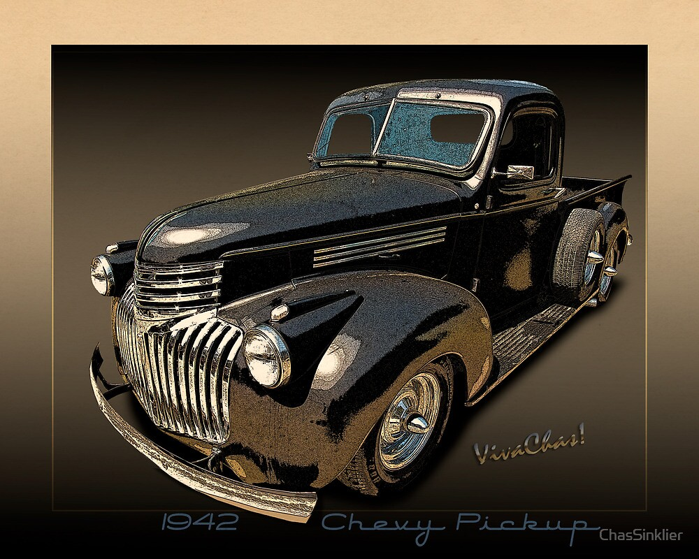 1942 Chevy Pickup Rat Rod by ChasSinklier