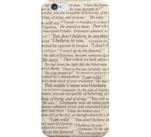 Grantaire Quotes iPhone Case/Skin