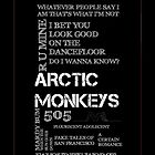 Arctic Monkeys by ItsHarri
