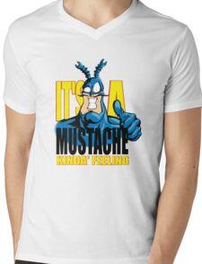 da tick Mens V-Neck T-Shirt