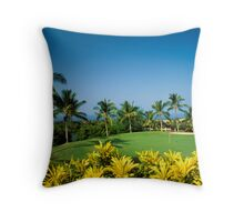 Kona Country Club  Throw Pillow