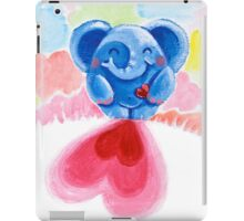 Me And My Heart - Rondy the Elephant In Love iPad Case/Skin