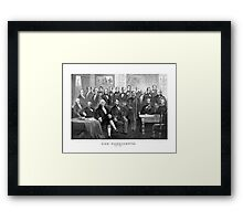 Our Presidents 1789 - 1881 -- US History Framed Print