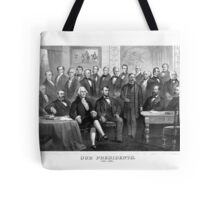 Our Presidents 1789 - 1881 -- US History Tote Bag
