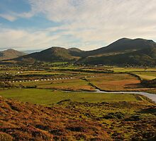 Binnion Hill View by Adrian McGlynn