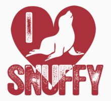 I Love Snuffy Seal by cerenimo