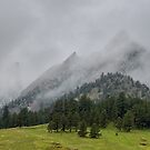 The Wild and Wet Flatirons by Gregory J Summers