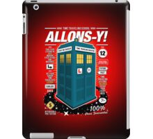 Time Traveling Lessons iPad Case/Skin