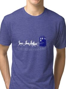 The Doctor's Christmas Tri-blend T-Shirt