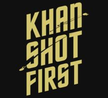 Khan Shot First by mattwileyart