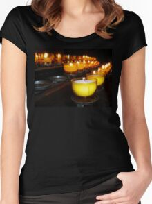 Church Candles Women's Fitted Scoop T-Shirt